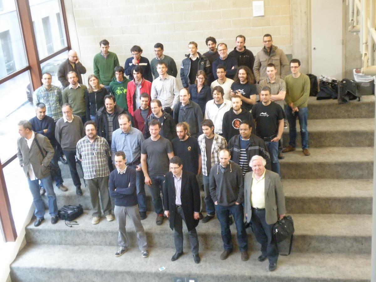 Μάρτιος 2014 - Συνάντηση των συνεργατών του CONFINE στην Αμβέρσα